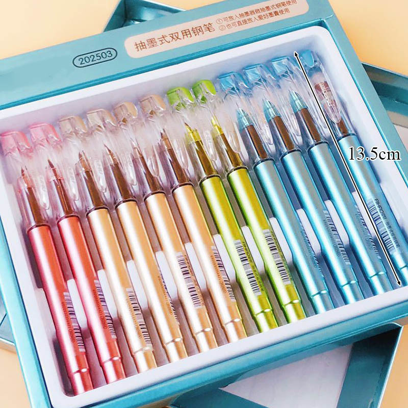 BPCute Multiple Colour Iraurita Fountain Pen Calligraphy Ink Pen Caneta For Students Gift Korean Stationery Student WJ-B P100 high quality stylo plume vintage iraurita fountain pen ink pen nib calligraphy penna stilografica stationery caneta vulpen 03832