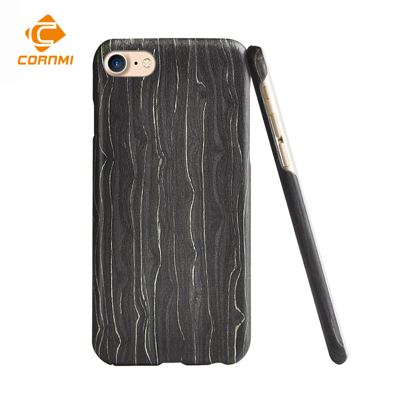 Luxury Wooden Case For iPhone 8 Cover 4.7 inch Anti-knock Slim Back Cover Protector Accessories CORNMI