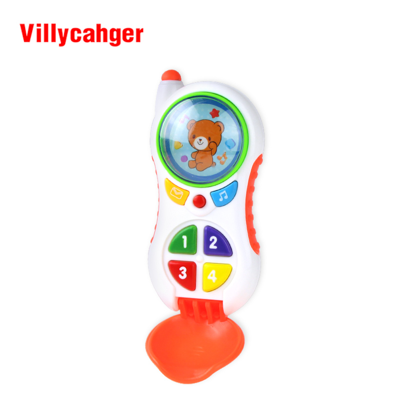 XC6613-4 baby toys with sound and light / Child music phone / Learning Study Baby cell phone toy / Educational toy Игрушка