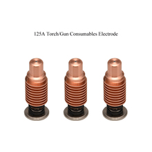 Free Shipping 125A Torch/Gun Consumables Electrode for Welding Machine 3PCS Imported Cooper MIG Welding Machine Accessory