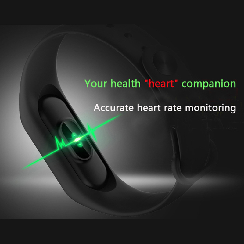 Rubber Digital Sport Men Watches Wristband for Android IOS LED Smart Bracelet Heart Rate Monitor Bluetooth Watch