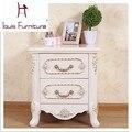 Europea muebles de dormitorio de madera mesa de noche mesita de noche con ventas calientes mejor calidad