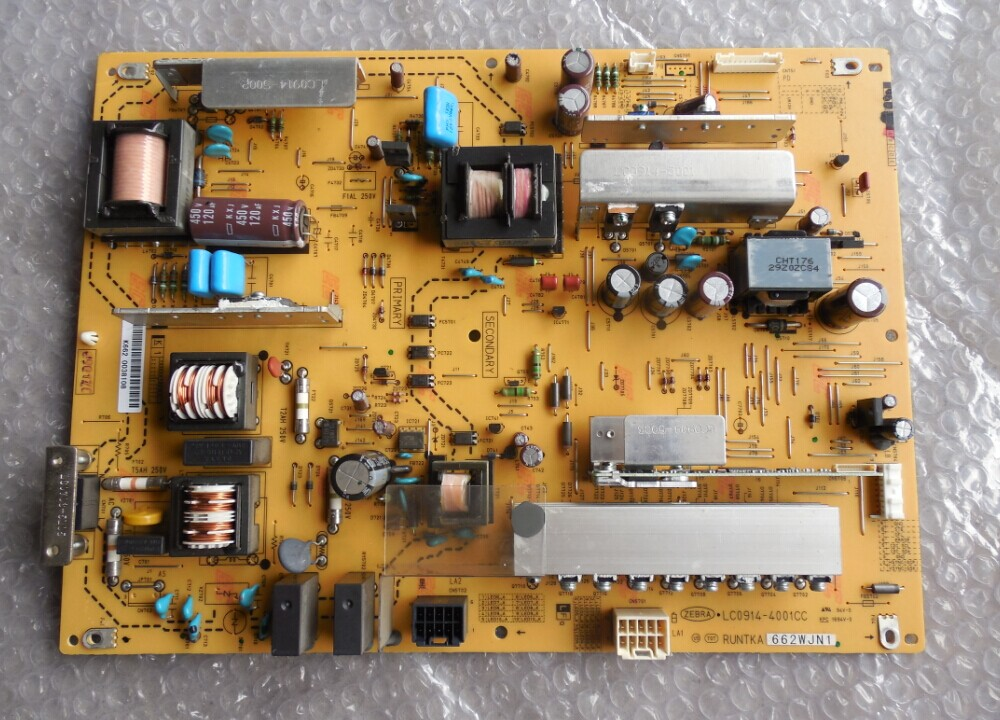LCD-46LX710A 52LX710A power panel RUNTKA662WJN1 LC0914-4001CC is used