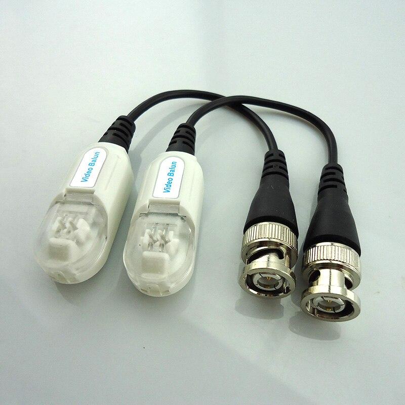 Gakaki 10pair Surveillance Twisted Cctv Video Balun Passive Video Transceiver Bnc Cat5 Utp Dvr Security Cctv Accessories