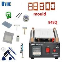 UYUE 948Q LCD Screen Separator Machines Built In Pump Vacuum Metal Body Glass Accessories Max 7