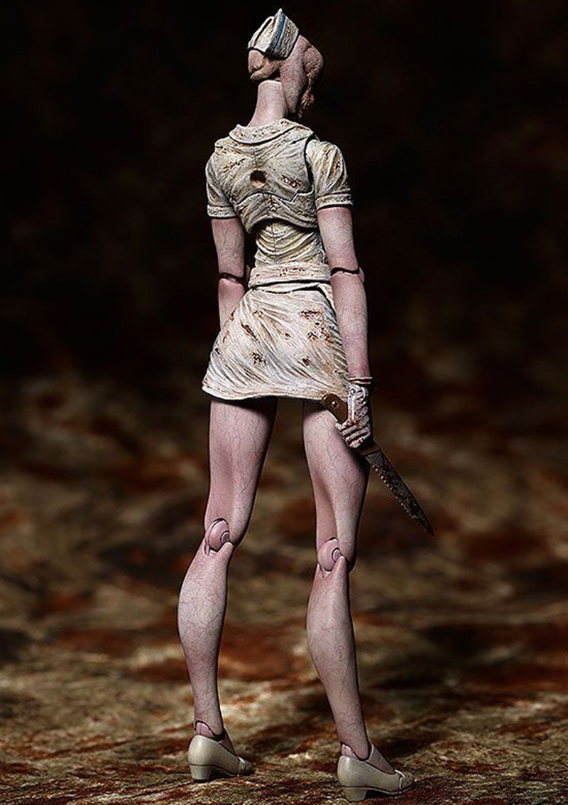 Movie Silent Hill II Variant Action Figure Bubble Head Nurse Figma SP-061 Toy Without Retail Box (Chinese Version) 3