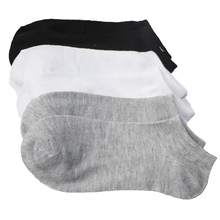 5pairs/lot Summer Women Socks Low Cut Ankle Casual Breathable Black White Gray Ladies Short Chausette Femme Meias