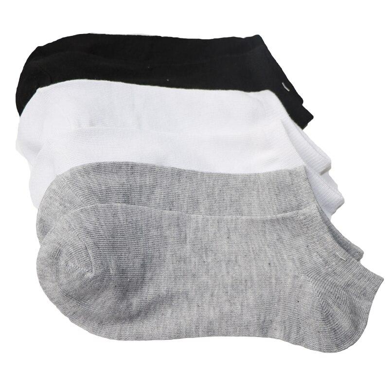 5pairs/lot Summer Women   Socks   Low Cut Ankle   Socks   Casual Breathable Black White Gray Ladies Short   Socks   Chausette Femme Meias