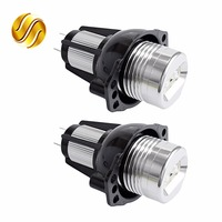 2 Pieces 1 Set 6W LED Marker Angel Eyes 7000K XENON White For BMW E90 E91