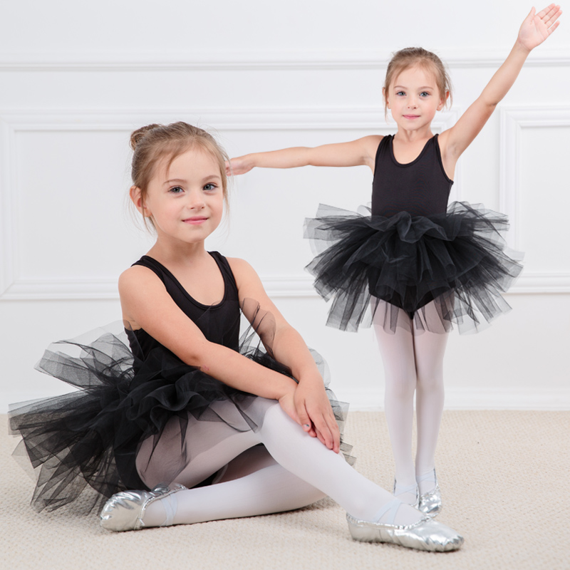 Fashion kids girl ballet tutu dress Professional dancing Party dress Performance costume Princess Wedding Girl Dress 2-8 Ys new children professional black ballet tutus blue ballet adult ballet dance clothes girl puff dress costume tutu dress women