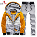 Mens Tracksuit autumn Winter Fashion fleece Men Thrasher sportSuits Jacket Jogger Pants And Sweatshirts Hoodies Sets Size M~4XL