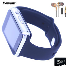 Pewant Wearable Devices W88 Smart Watch Men With Passometer Camera SIM Card Call Bluetooth Smartwatch For Android GT08 DZ09 A1