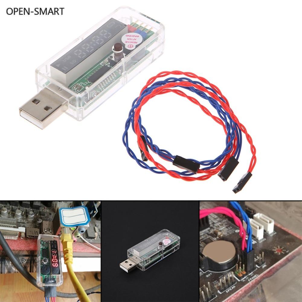 Abierta SMART USB Watchdog V9.0 equipo azul pantalla Digital detenido reinicio automático minero 5 V/0.2A aplicar A tipo A placas base
