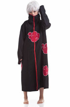 New Fashion Unisex Cosplay Costumes Anime Naruto Itachi/Akatsuki Cosplay Robes Cloak Party Costumes