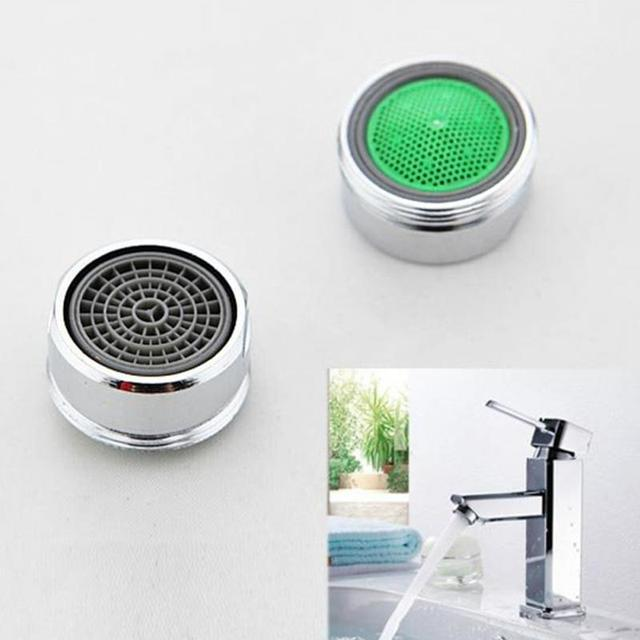 2pcs/lot Faucet Aerator Filter Kitchen Bathroom Tap Filters Screen Chrome  Thread Swivel Faucet Nozzle