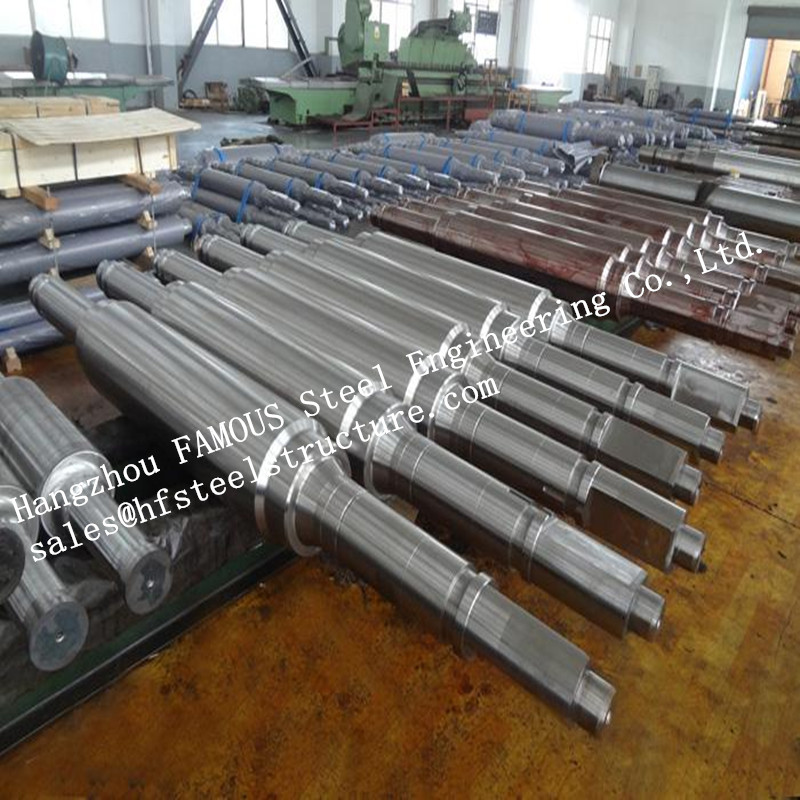 Stainless Steel High Precision Forged Steel Work Rolls For Cold - Rolling Mills