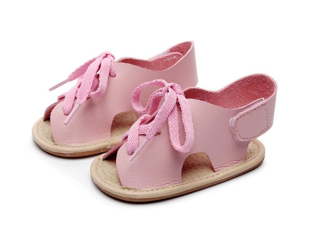 Soft Soled Infant Toddlers Crib Shoes Baby Sandals HONGTEYA Girls Summer Baby Gladiator Sandals