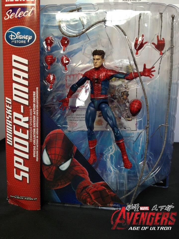 Marvel Select DST Defines Magic Amazing Spider Man 2Action Figure Model