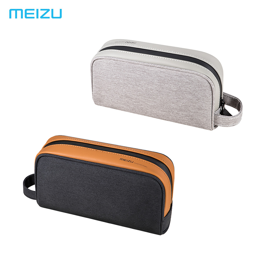 Meizu Storage Bag Simple Travel bag Handhold Bag for mobile phones power bank cables Makeup bag wallet A multi-purpose pack ...