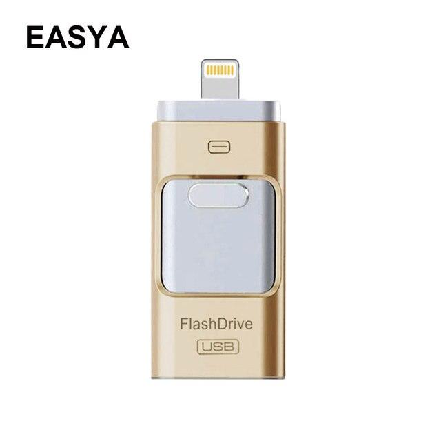 I-conductor de destello del usb flash drive 8/16/32/64/128 gb nueva otg pluma unidad micro usb stick descarga para iphone/ipad/ipod/android/pc/mac