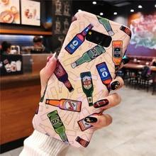 Para Samsung Galaxy Note 8 9 japonés tendencia calle tapa bebida Logo caso  Teléfono para Samsung f7007326dfe
