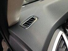Для Nissan Qashqai J11 2014-15 автомобиля Стикеры подкладке atype подкладке Кондиционер Vent Обложка отделкой Бесплатная доставка хромированный