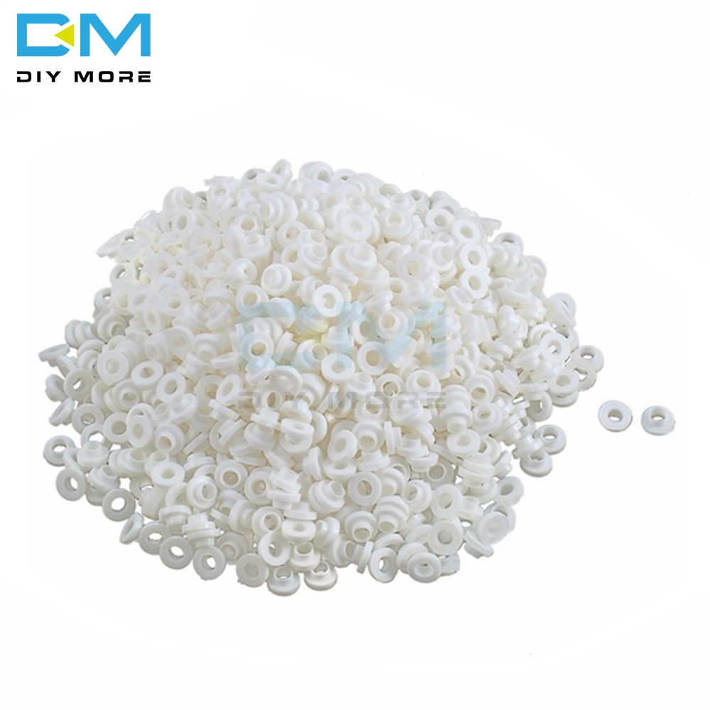 200PCS Insulating Tablets Insulation Bushing Transistor Pads Circle TO-220 Insulated Cap Insulation Particle Ring For M3 Screws