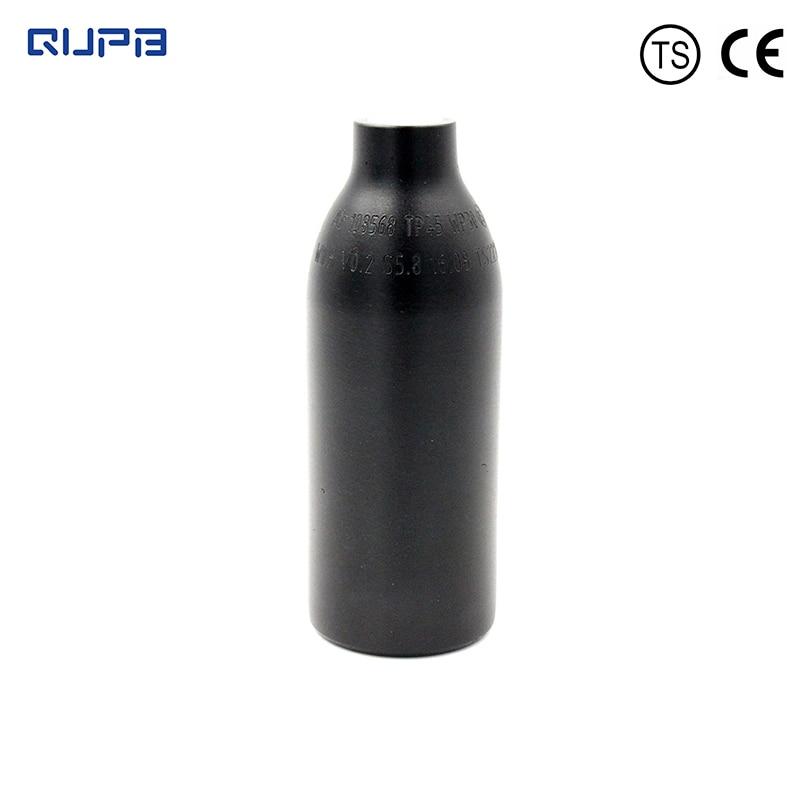 QUPB PCP Paintball 0.2L High Pressure Cylinder Air Tank 12CI HPA Cylinder 300bar 4500psi Black Bottle M18*1.5Thread TKM020