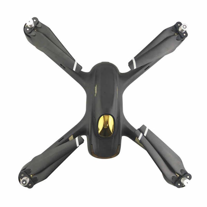 4 piezas Hubsan H501S Drone RC Quadcopter piezas de repuesto accesorios plegables CW/CCW hélice rojo azul Amarillo Blanco verde negro