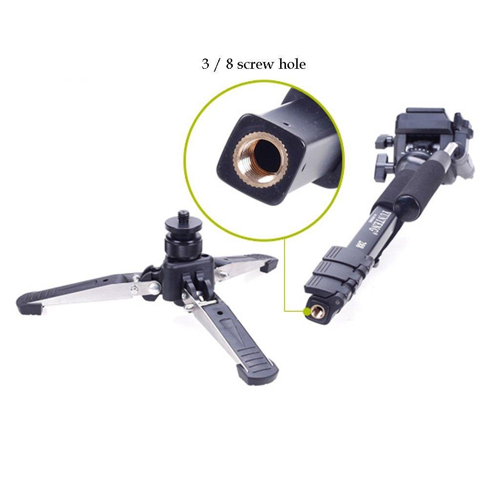 Canon Nikon DSLR Kamera için Yunteng 288 Pro Fotoğraf Monopod - Kamera ve Fotoğraf - Fotoğraf 5