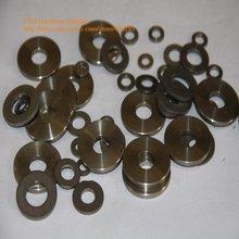 Rondelle en titane, lot de 100 pièces, 6, GR2