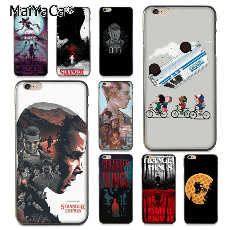 MaiYaCa Stranger Things tv series soft tpu Rubber Cell Phone Case for  iPhone 8 7 6 6S Plus X 5 5S SE 11pro max case Cover