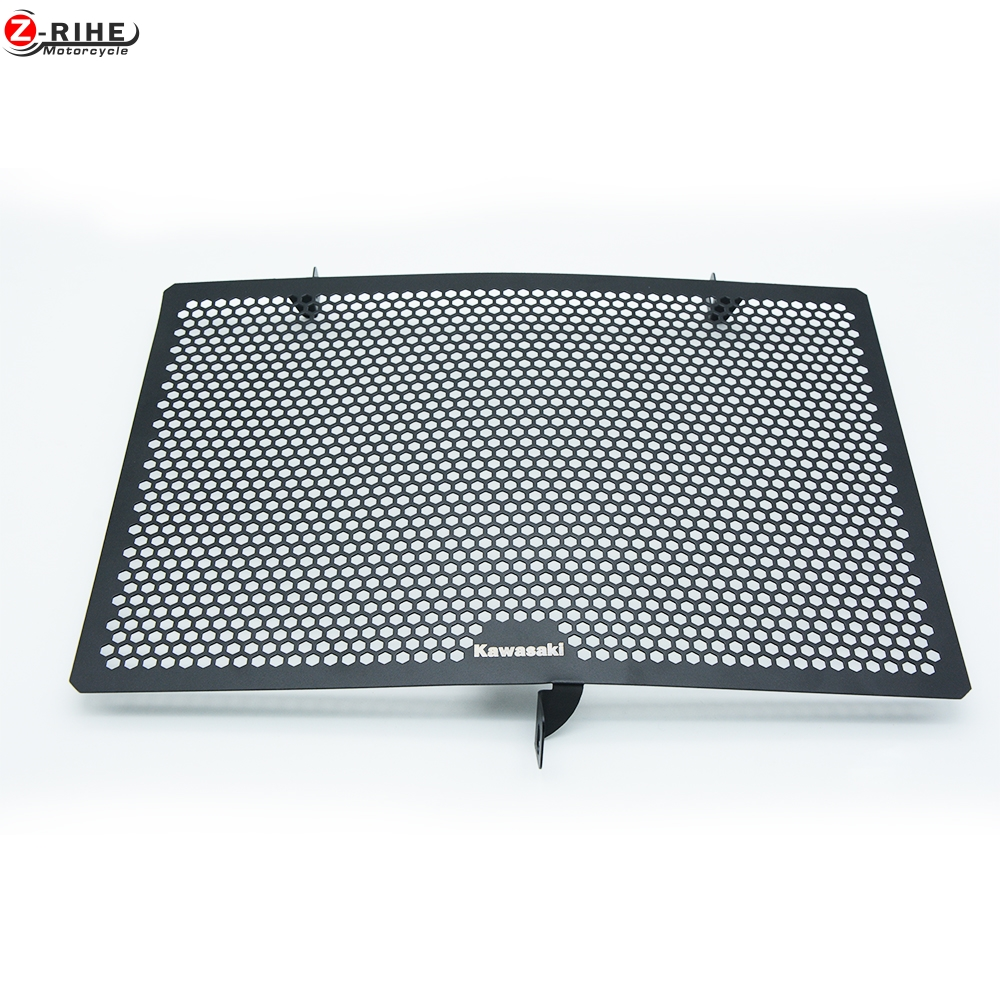 motorcycle Aluminium Radiator Side Guard Grill Grille Cover Protector For Kawasaki Z1000 2010-2016 z800 2013-2016 Z750 2010-2016 motorcycle stainless steel radiator guard protector grille grill cover for kawasaki z750 2010 2011 2012 2013 2014 2015 2016