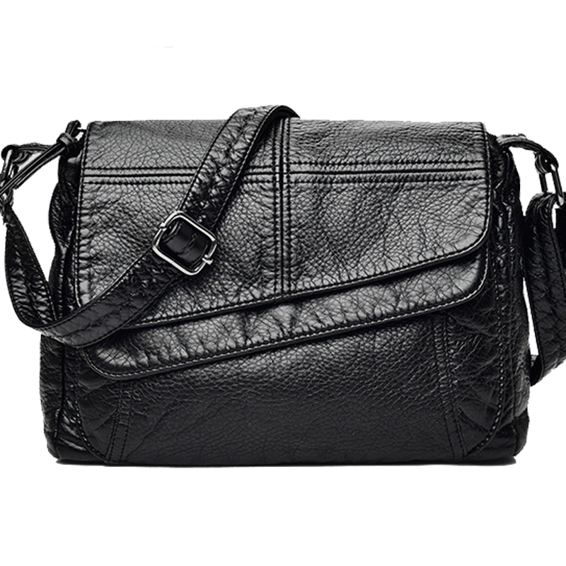 Brand Fashion Soft Leather Shoulder Bags Female Crossbody Bag Portable Women Messenger Bag sling Tote bag Ladies Handbag Bolsas billetera sailor moon