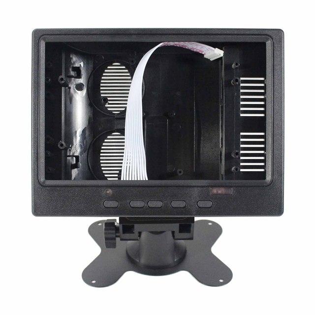 """Plastik kasa DIY 7 """"LCD monitör, LCD monitör kasası ile uyumlu 7 inç LCD gibi HSD070PWW1"""