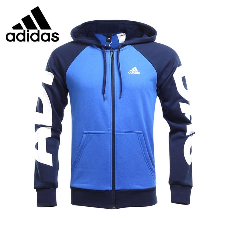Original New Arrival 2017 Adidas JKT LIN FZ HDY Men's jacket Hooded Sportswear original new arrival adidas lin fz hood b men s jacket hooded sportswear