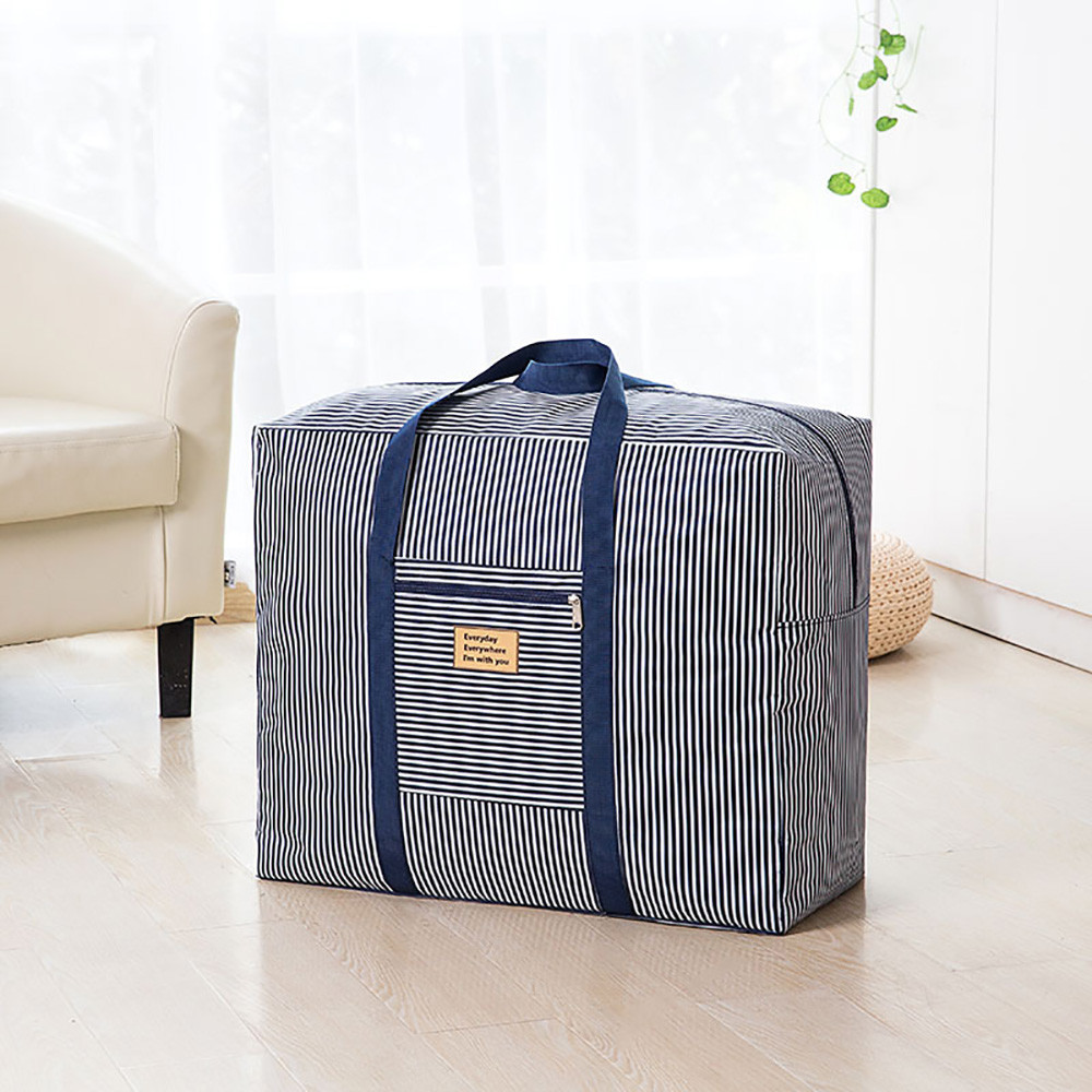 Home Fashion Storage Bag Large Capacity Vintage Floral Laundry Shopping Storage Tote Bag Reusable Bags Zipped High Quality