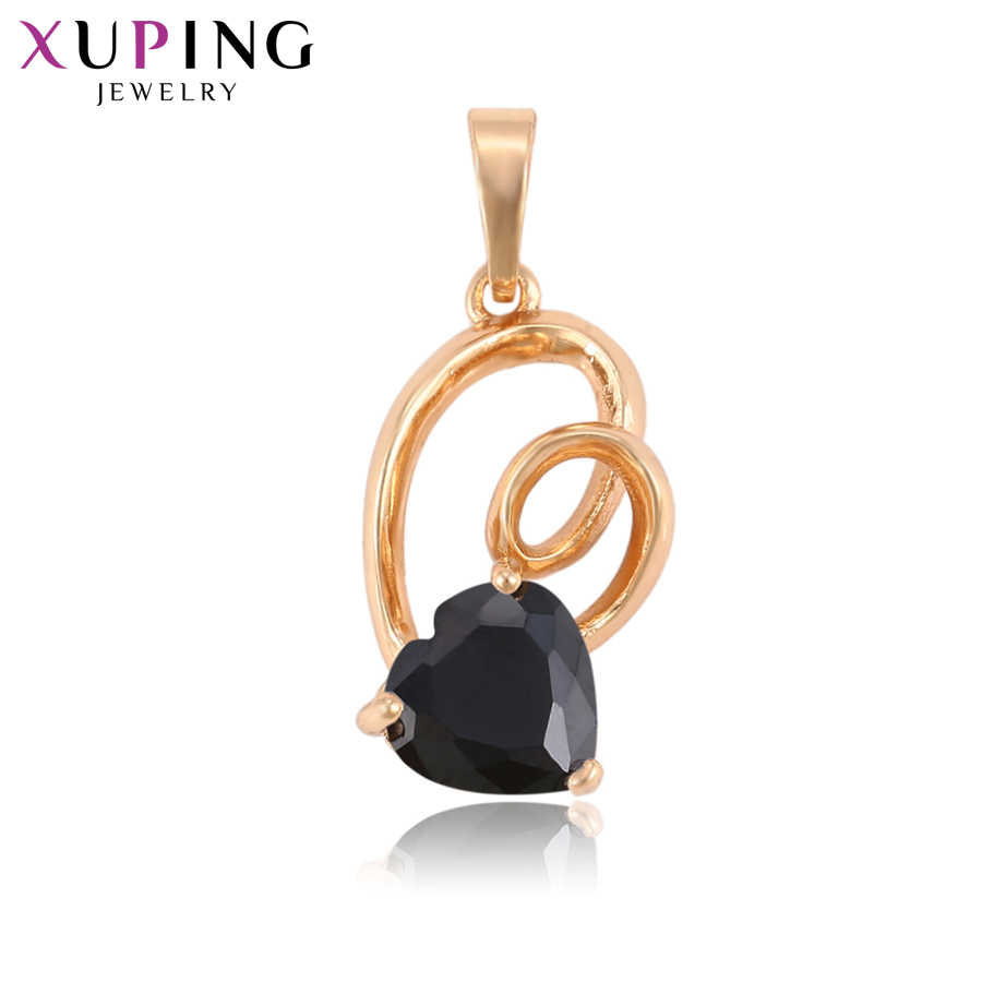 Xuping Small Heart Pattern Pendant Charm Design Jewelry for Women Thanksgiving Day Gift S81.8-33294