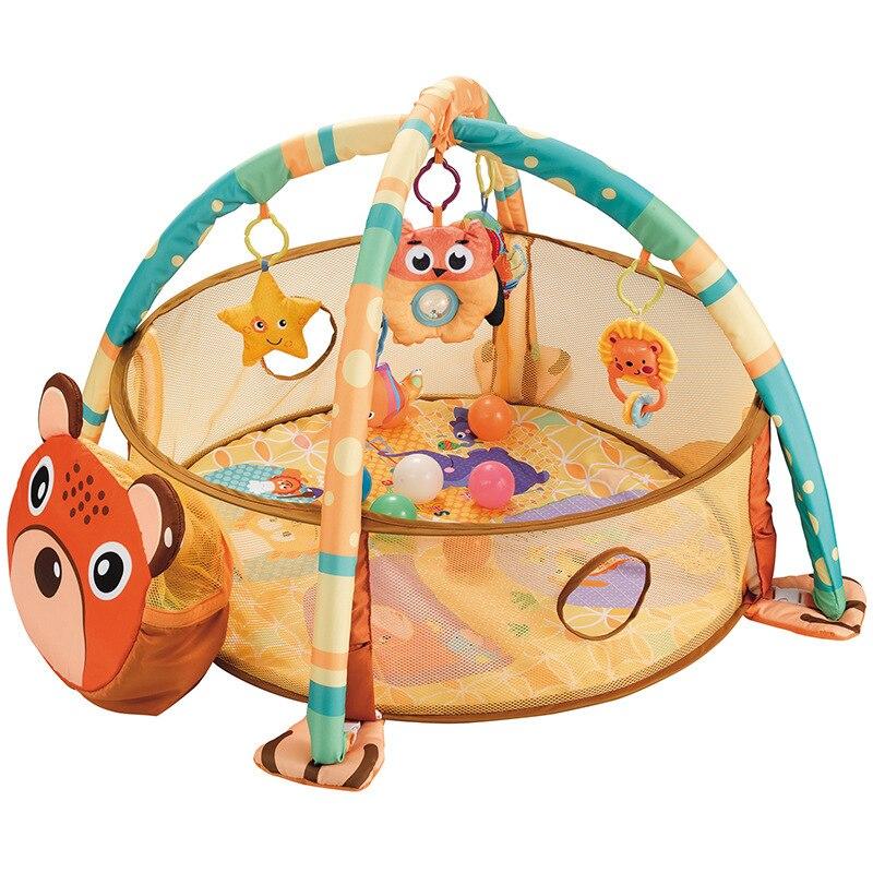 Bébé Activité Gym Hochet Jouets Éducatifs En Développement Gym tapis de Jeu - 2
