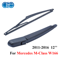 Oge 12 Set Windshield Rear Wiper Blades And Arm For Mercedes M Class MK 3 W166