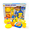 Kitchen Safety Educational Toy Food Cooking Cutting Fruit Vegetable Kitchen Toy With Teapot For Children For