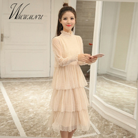 Spring Women Fashion Sexy Lace Evening Party Dress 2018 New Casual Slim Pink Maxi Dress Femal