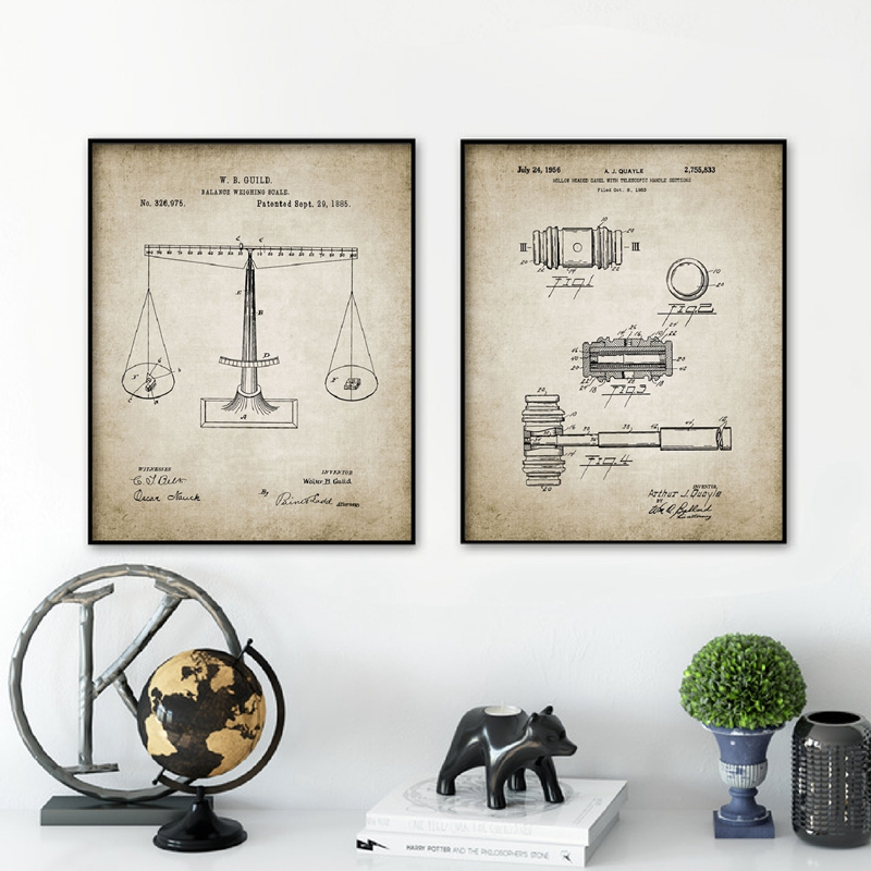 Ev Ve Bahce Ten Resim Ve Hat De Hukuk Ogrenci Patent Blueprint