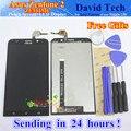Alta qualidade da tela de toque + display lcd digitador assembléia para asus zenfone 2 ze551ml 5.5 polegadas telefone preto 1920*1080