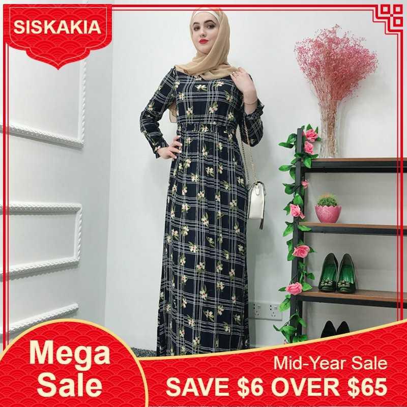 1da5b3273f Detail Feedback Questions about Siskakia Muslim Women Abaya Elegant ...