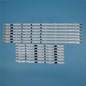 832 мм 14 шт./компл. светодиодные панели для Samsung UE40F6650AB UE40F6540AB 40 дюймовая подсветка для телевизора Светодиодная лента матрица лампы полосы
