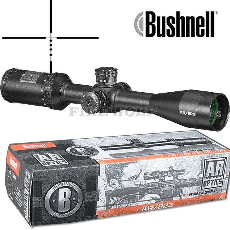 BUSHNELL 4.5-18x40 AR Optique Drop Zone-223 Réticule Tactique de Tir Avec Cible Tourelles de Chasse Scopes pour Fusil de Sniper