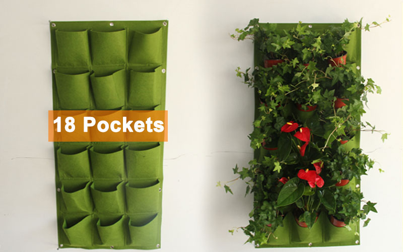 HTB1h3fhCv5TBuNjSspmq6yDRVXa8 - Wall Hanging Planting Bags Pockets Green Grow Bag Planter