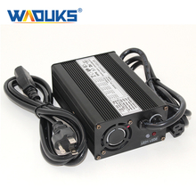Cargador de batería de ion de litio de 58,8 V y 2A, cargador de batería de litio de 58,8 V para Lipo/LiMn2O4/LiCoO2 de 14S y 51,8 V, carga completamente automática