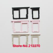 YUYOND Original New Sim Card Tray Slot & Micro SD Card Holder For Samsung Galaxy J5 Prime J7 Prime On5 On7